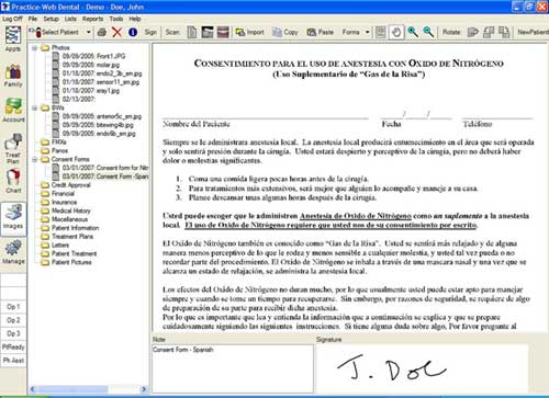 Consentformspanishg an example of consent form in spanish pronofoot35fo Image collections