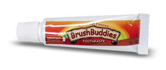 Kids Toothpaste And Toothbrush Ashtel Dental - Bubble...